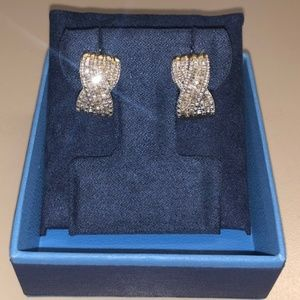 Jewelry - 1.08ctw Diamond Simulant Sterling Silver Earrings